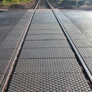 Железнодорожный настил в Красноярске